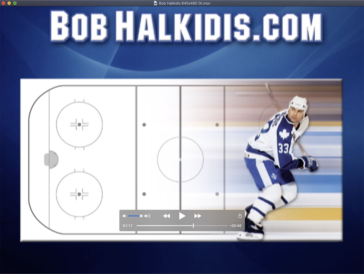 Bob Halkidis Hockey Training