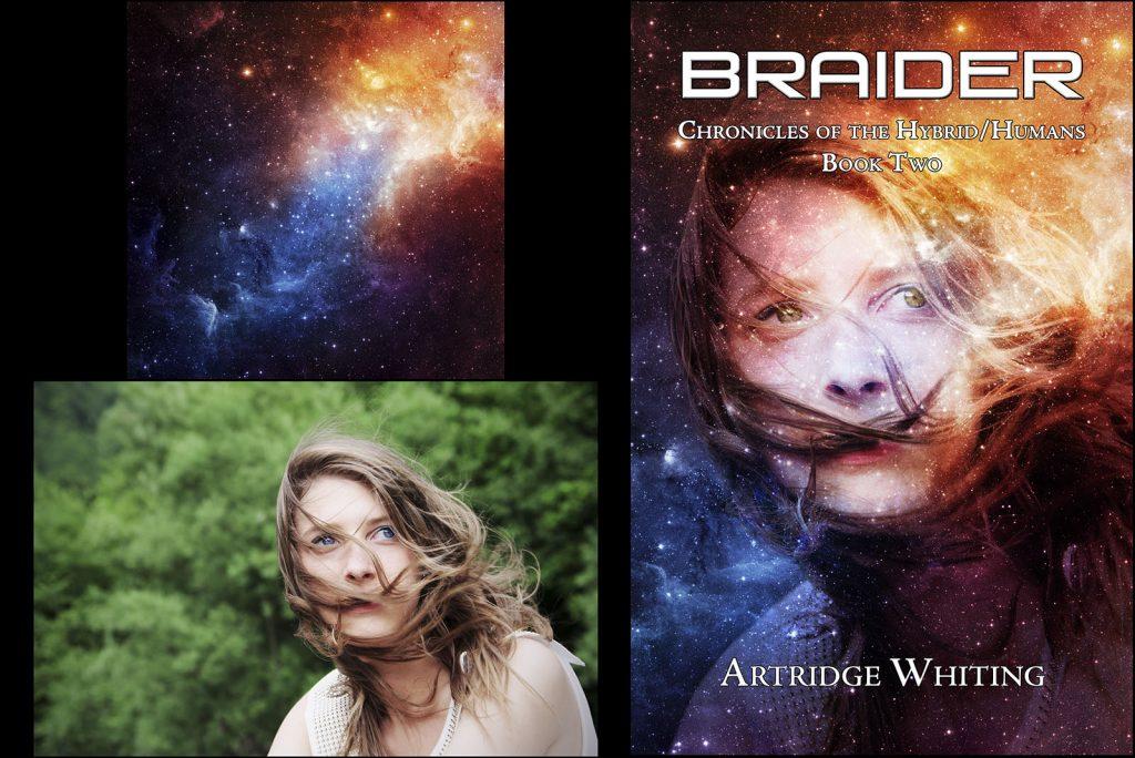 """Braider"" Book Cover"