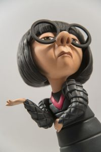 """Edna Mode """"No Capes"""" (closeup)"""